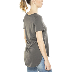super.natural Comfort Japan T-shirt Dames, charcoal
